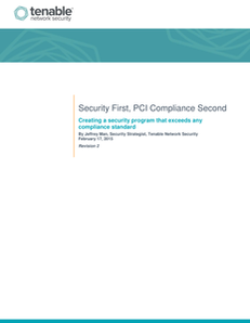 Security First: PCI Compliance Second