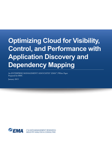 Optimizing Cloud for Visibility, Control, and Performance