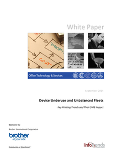 Device Underuse and Unbalanced Fleets: Key Printing Trends and Their SMB Impact