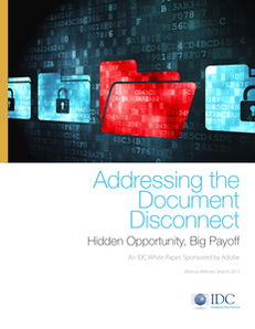 Addressing the Document Disconnect: Hidden Opportunity, Big Payoff