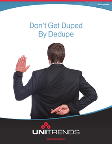 Don't Get Duped By Dedupe