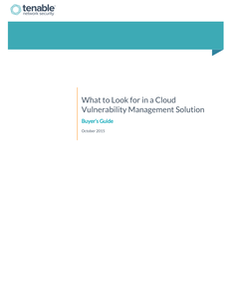 What to Look for in a Cloud Vulnerability Management Solution: Buyer's Guide