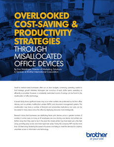 Overlooked Cost-Saving and Productivity Strategies Through Misallocated Office Devices