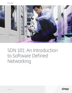 SDN 101: An Introduction to Software Defined Networking