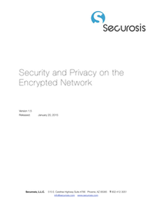 Security and Privacy on the Encrypted Network