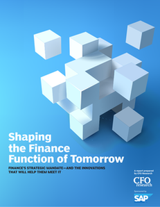 Shaping the Finance Function of Tomorrow