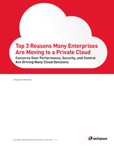 Top 3 Reasons Many Enterprises Are Moving to a Private Cloud