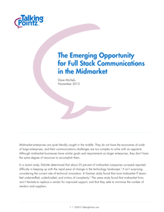 The Emerging Opportunity of Full Stack Communications in the Midmarket WP