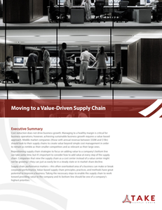 Moving to a Value-Driven Supply Chain