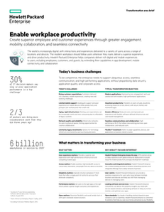 Enable Workplace Productivity