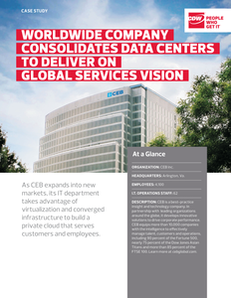 Worldwide Company Consolidates Data Centers to Deliver on Global Services Vision