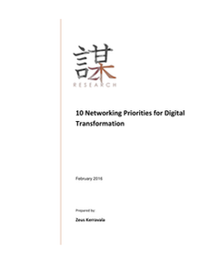 10 Networking Priorities for Digital Transformation