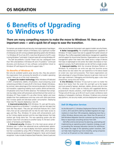 6 Benefits of Upgrading to Windows 10