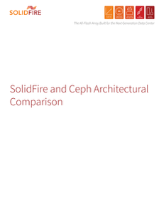 SolidFire and Ceph Architectural Comparison