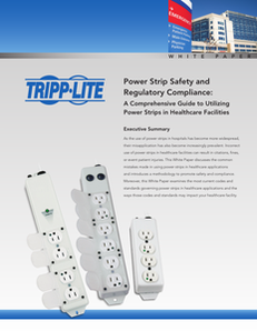 Power Strip Safety and Regulatory Compliance in Healthcare Facilities