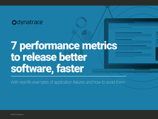7 Performance Metrics to Release Better Software, Faster