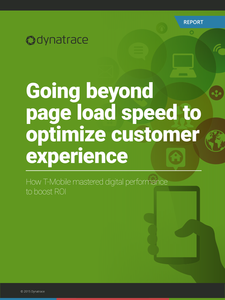 Going Beyond Page Load Speed: How T-Mobile mastered digital performance to boost ROI