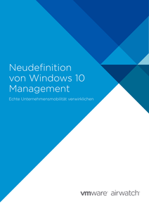 Redefine Windows 10 Management – GER