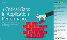 Why Gap Free Data Matters – 3 Critical Gaps in Application Performance