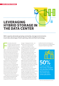 Leveraging Hybrid Storage in the Data Center