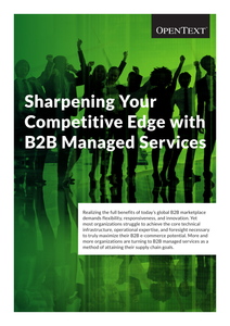 Sharpen Your Competitive Edge with B2B Managed Services