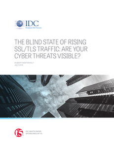 The Blind State of Rising SSL/TSL Traffic: Are your Cyber Threats Visible?
