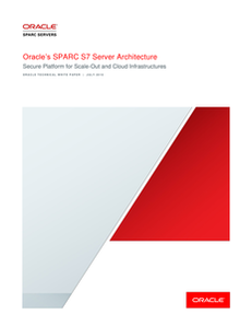 Oracle's SPARC S7 Server Architecture
