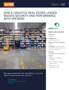 OpenDNS Case Study: How a logistics real estate leader boosts security and performance with OpenDNS