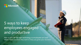 5 Ways to Keep Employees Engaged and Productive
