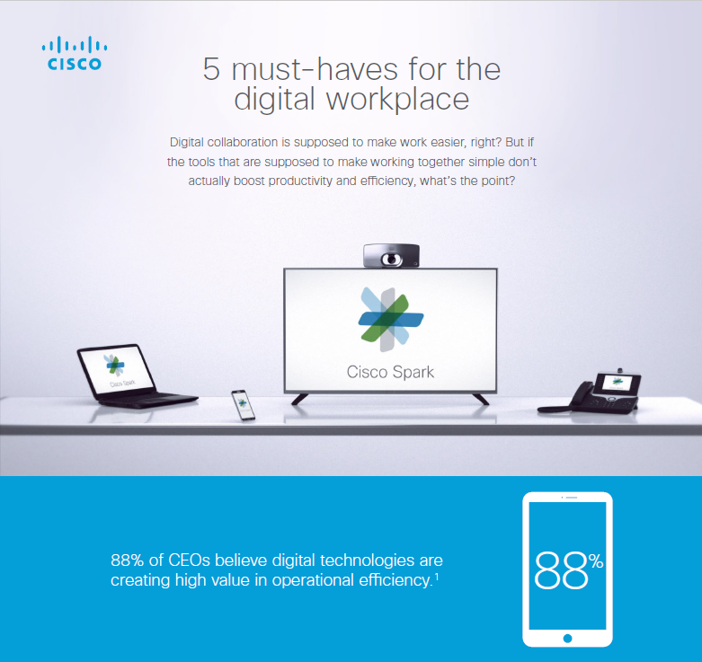 5 Must-Haves For the Digital Workplace