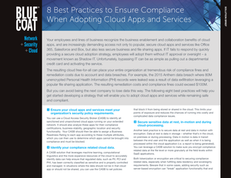 8 Best Practices to Ensure Compliance When Adopting Cloud Apps and Services