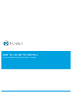 Best Practices for Microservices Implementing a Foundation for Continuous Innovation