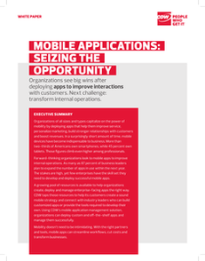 Mobile Apps: Seizing the Opportunity