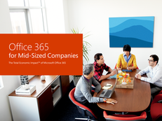 Move to Office 365 gives Businesses 156% ROI, Forrester says