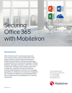 Securing Office 365 with MobileIron