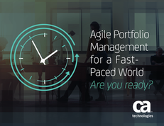 Agile Portfolio Management for a Fast-Paced World – Are you ready?