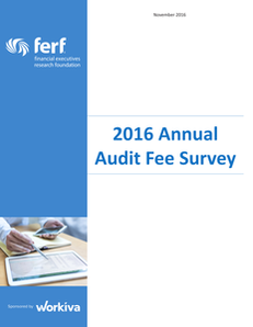 Results of the 2016 Audit Fee Report
