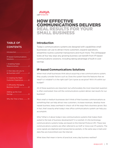 How Effective Communications Delivers Real Results for Your Small Business