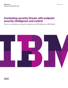 Combating Security Threats with Endpoint Security Intelligence and Control
