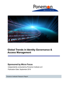 Global Trends in Identity Governance & Access Management