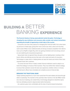 Building a Better Banking Experience