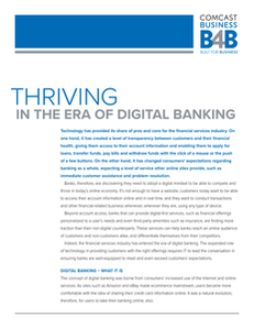 Thriving in the Era of Digital Banking