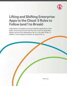 Lifting and Shifting Apps to the Cloud: 5 Rules to Follow