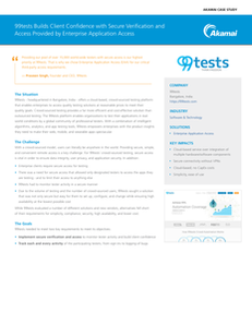 Case Study: How 99tests Was Able to Easily and Securely Deliver a Crowd-Sourced Application