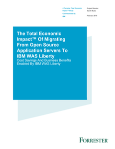 Migrating From Open Source Application Servers To IBM WAS Liberty