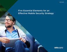 Five Essential Elements of Mobile Security