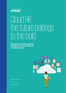 Cloud HR: the future belongs to the bold