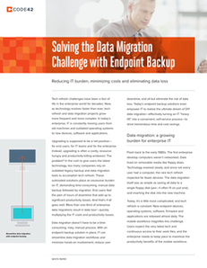 Solving the Data Migration Challenge with Endpoint Backup