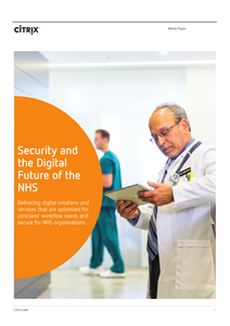 Security and the Digital Future of the NHS