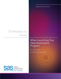10 Mistakes to Avoid when Launching your Data Governance Program